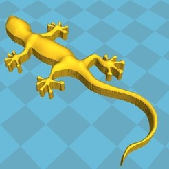 gecko.JPG Download free STL file Gecko • Design to 3D print, robinwood87cnc