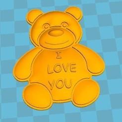 Descargar archivos 3D gratis oso de amor, robinwood87cnc