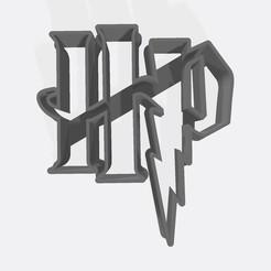 HP.jpg Download STL file Harry potter logo - Coookie cutter / cookie cutter • 3D printing model, Gatopardo