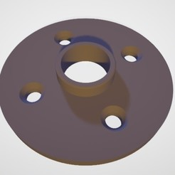 Brida2.jpg Download STL file Flange 1/2 inch - flange 1/2 inch • 3D print object, Gatopardo
