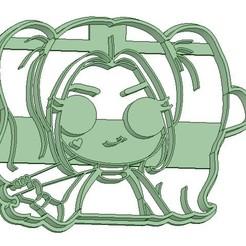 Descargar archivo 3D Harley Quinn Cookie cutter - Cortante de Galletitas , Gatopardo