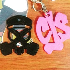 3D print files Key ring Ñengo Flow, Gatopardo