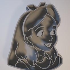 3D printer models Alice's Adventures in Wonderland cookie cutter, Gatopardo