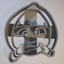 STL files Masha - Cookie cutter, Gatopardo