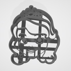 3D print model Princesita sofia - Sofia the First cookie cutter, Gatopardo
