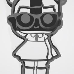 3D print model LoL cookie cutter - LOL cookie cutter, Gatopardo