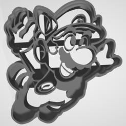 Download 3D printer templates Mario bros 3 - Cookie cutter / cookie cutter, Gatopardo