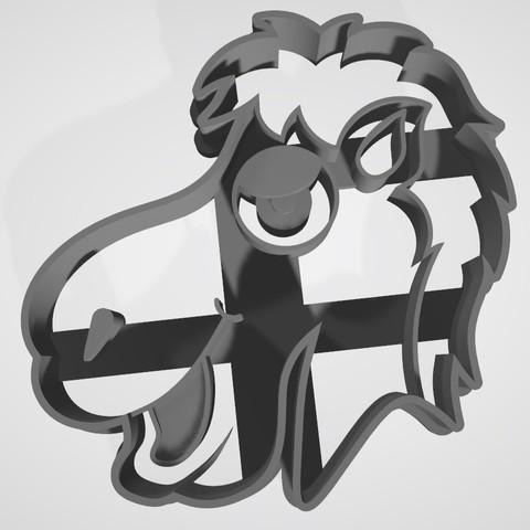 3D printer models Set x4 Three wise men / Reyes magos Cookie cutter, Gatopardo