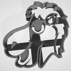 Download 3D printer designs Set x4 Three wise men / Reyes magos Cookie cutter, Gatopardo