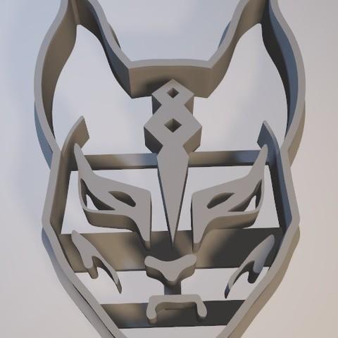 Télécharger STL Fortnite Mask - Emporte-pièce / emporte-pièce à biscuits, Gatopardo