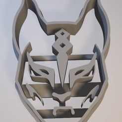 Descargar modelo 3D Fortnite Mask - Cookie cutter / cortante de galletita, Gatopardo