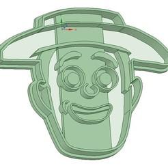 3D printer files Cara Zenon - Granja de Zenon Cortante de galletita, Gatopardo