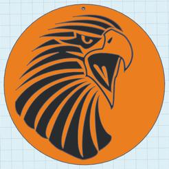 0.png Télécharger fichier STL gratuit Aigle Ref170320 • Objet pour impression 3D, oasisk