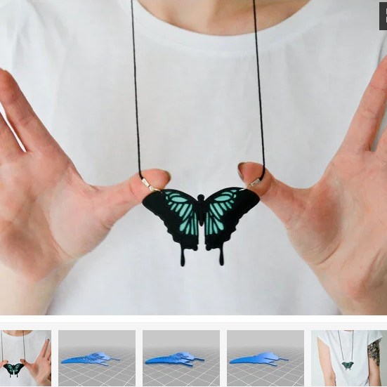 original.png Download free STL file Wall decoration Butterfly 2 colours • 3D printable object, oasisk