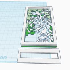 Descargar archivos 3D gratis Decoración 3D_Pájaros, oasisk