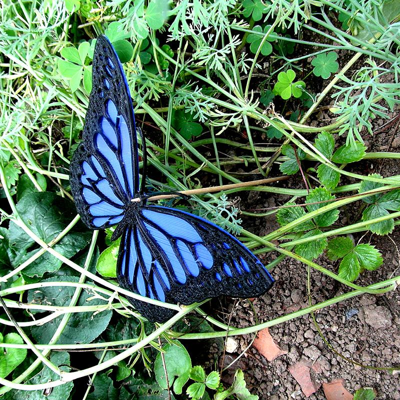 1_2.jpg Download free STL file Monarch Butterfly • 3D print design, oasisk