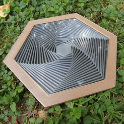 SAM_1579.png Download free STL file Satisfying Hexagons_Addition • 3D print design, oasisk