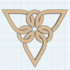 0.png Download free STL file Triquetra T6 Pendant • 3D printing object, oasisk