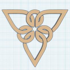 0.png Télécharger fichier STL gratuit Triquetra T6 en Pendentif • Plan à imprimer en 3D, oasisk