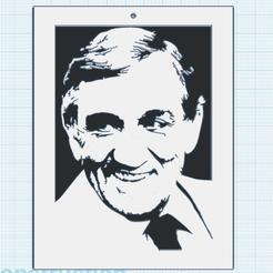 0.png Télécharger fichier STL gratuit Lino Ventura • Design à imprimer en 3D, oasisk