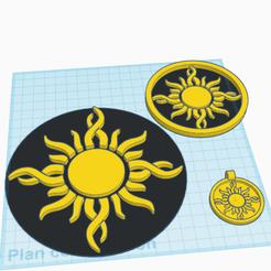 0_2.png Télécharger fichier STL gratuit Soleil • Plan pour impression 3D, oasisk