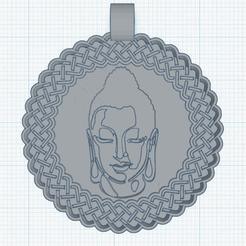 Descargar archivo STL gratis Colgante de Buda modelo 2 • Diseño para impresión en 3D, oasisk