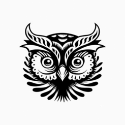 0.png Download free STL file An Owl Head • 3D print object, oasisk
