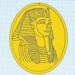 0.png Download free STL file Tutankhamun 0320 • 3D printing object, oasisk