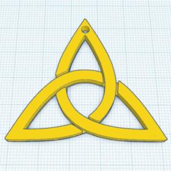 0.png Download free STL file Triquetra T5 Pendant • 3D printer object, oasisk