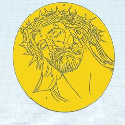 0.png Télécharger fichier STL gratuit Jesus • Plan imprimable en 3D, oasisk