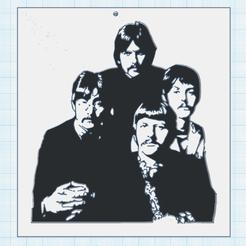 0.png Download free STL file The Beatles • 3D print design, oasisk