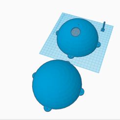 Download free 3D printer designs Nigloo nest for blue tits, oasisk
