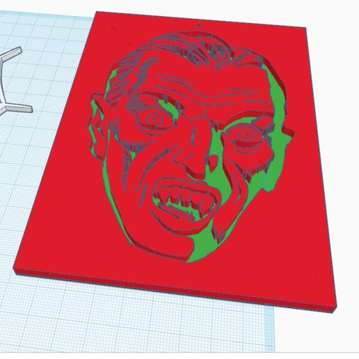 Télécharger plan imprimante 3D gatuit Dracula, oasisk