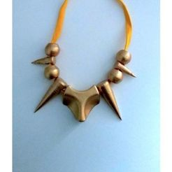 Download free 3D printer model Prehistoric necklace, oasisk