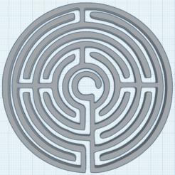 0.png Télécharger fichier STL gratuit Labyrinthe • Modèle imprimable en 3D, oasisk