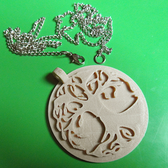Download free STL Tree of Life Pendant, oasisk