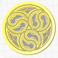 Descargar diseños 3D gratis Rosa gótica, oasisk