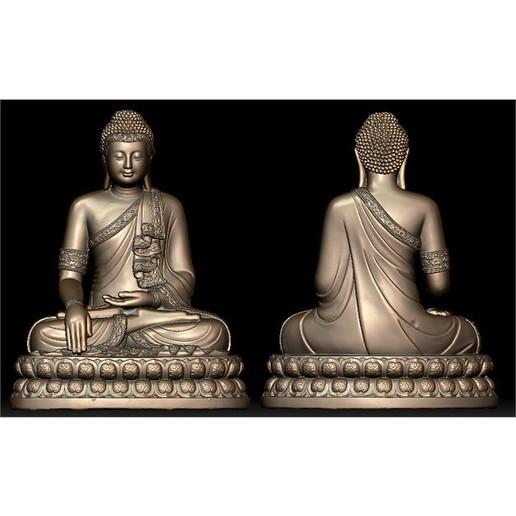 image.jpg Télécharger fichier STL gratuit BOUDDHA THAILANDAIS • Plan pour imprimante 3D, oasisk