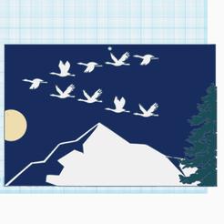0.png Télécharger fichier STL gratuit Migration • Plan imprimable en 3D, oasisk