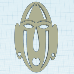 Download free 3D printing files African Mask 2, oasisk