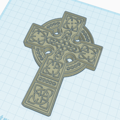 Download free 3D printer model CELTE CROSS Model 2, oasisk