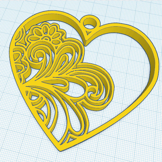 1.png Download free STL file HEART • 3D printing template, oasisk