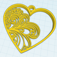 Download free 3D printing models HEART, oasisk