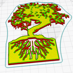 4.png Télécharger fichier STL gratuit DECOR ARBRE DE VIE_modele Dec19 • Modèle pour imprimante 3D, oasisk