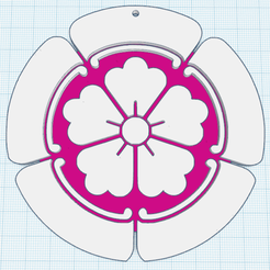 0.png Download free STL file CHERRY BLOSSOM STYLIZED • 3D print model, oasisk