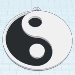 Descargar modelo 3D gratis Yin-Yang, oasisk