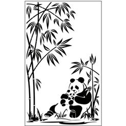 pandas.png Télécharger fichier STL gratuit Maman Panda • Objet imprimable en 3D, oasisk