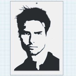 0.png Download free STL file Tom Cruise • 3D print object, oasisk