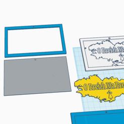 Télécharger plan imprimante 3D gatuit O Breizh Ma Bro version 2, oasisk