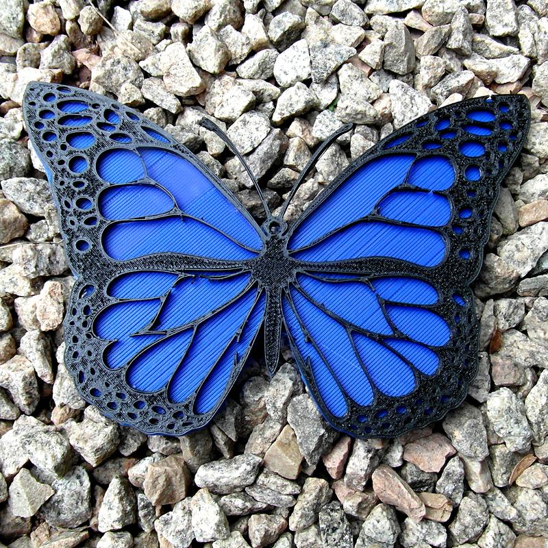 0.jpg Download free STL file Monarch Butterfly • 3D print design, oasisk